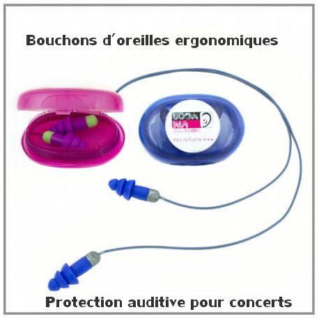 protection auditive ergonomique pour concerts de musique